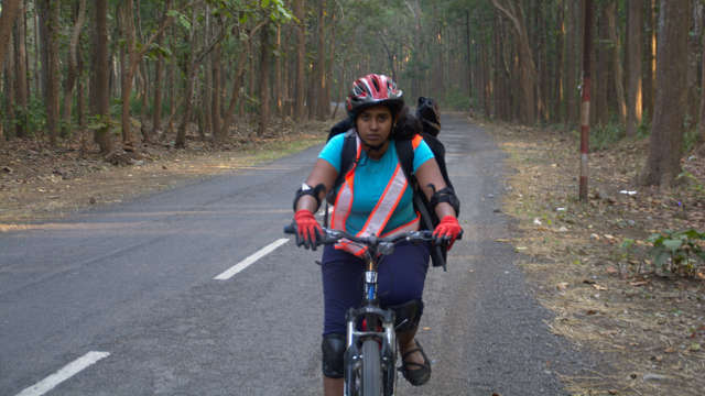 How Priya mastered long distance bicycling