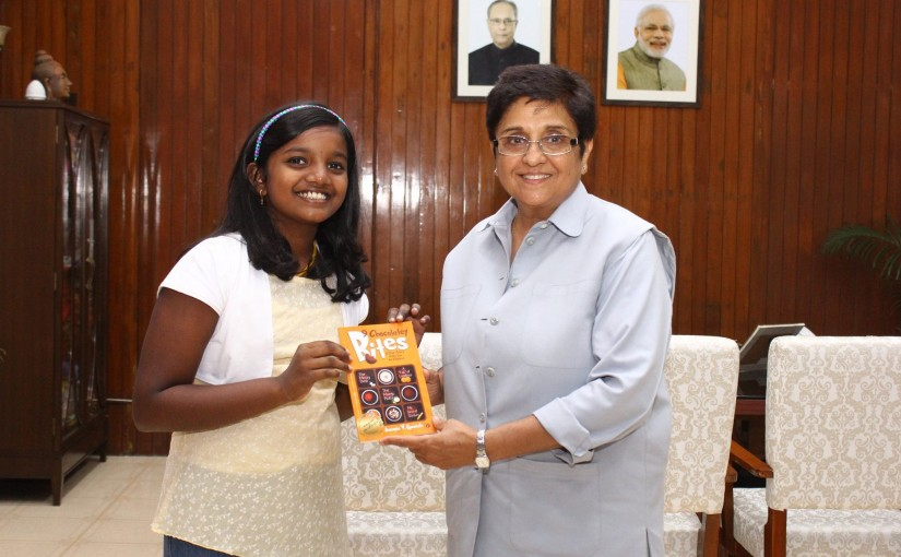 10 year old Author Ananya and her '9 Chocolatey Bites'