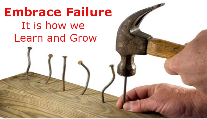 How do you react to failure?