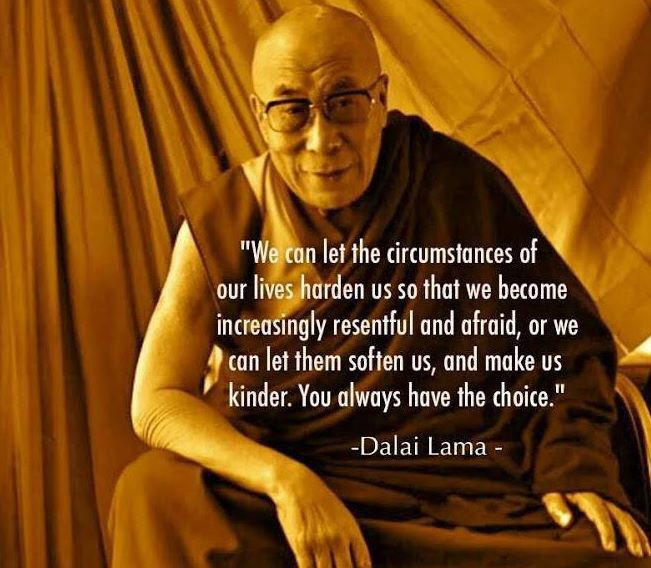 Dalailama on choice