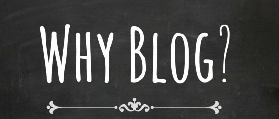 Why we write a blog and why you should too !!