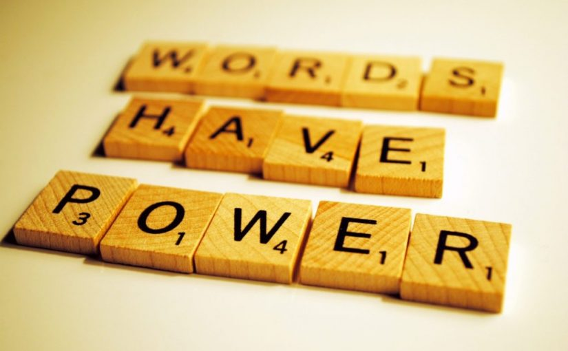 Choose your words, frame your situation
